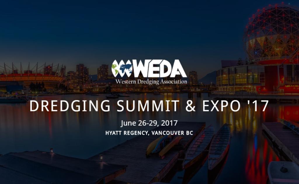 2017 WEDA Dredging Expo